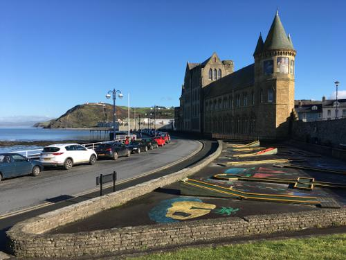 The Crazy Golf Course, Aberystwyth, Wales