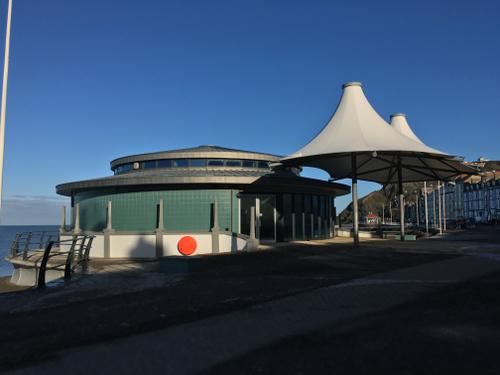 The New Bandstand, Aberystwyth, Wales