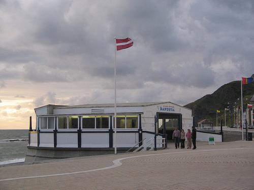 The Old Bandstand, Aberystwyth, Wales