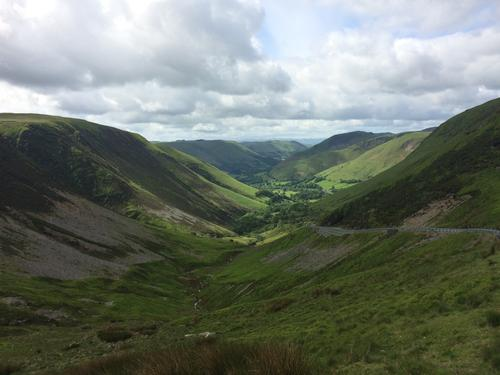 The valley at Llanymawddwy